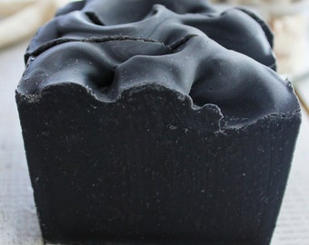Charcoal Mintree Detox Vegan Essential Oil Aromatherapy Soap great for face with oily and problematic skin