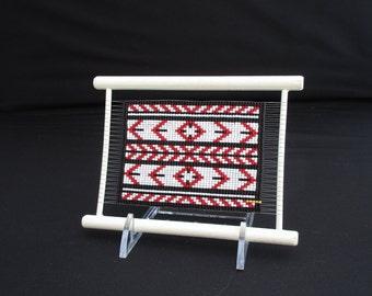 Sarape Dazzler Loom-Frame Bead Weaving