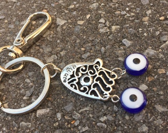 Jewish New Year / Evil eye charm/ Hamsa/ Chamsa/ Hamsa hand/ Kaballah/ Protection/