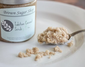 Tahitian Coconut Sugar Scrub 8 ounce