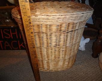 FARM HOUSE Large lidded basket