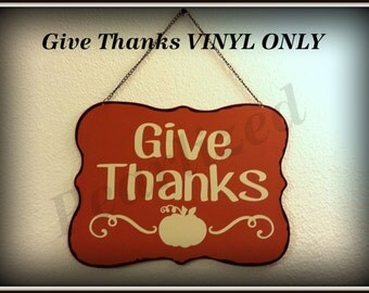 Give Thanks w/ Pumpkin VINYL ONLY
