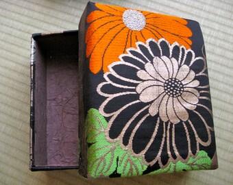 Box,100%Silk Obi Kimono fabric,#2