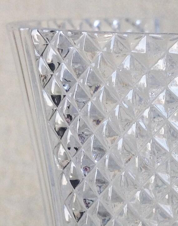 french crystal vase cristal d 39 arques france lead. Black Bedroom Furniture Sets. Home Design Ideas