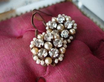 Vintage Style Earrings. Crystal Earrings Dangles. Romantic Crystal Jewelry. Crystal Dangle Earrings. Vintage Crystal Earrings. Crystal Drop