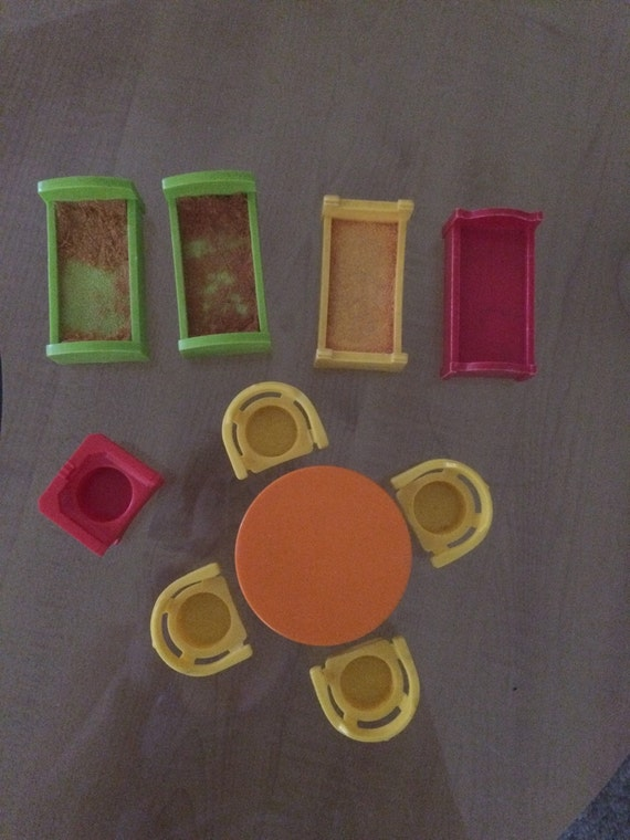 Fisher price little people table and chairs four by
