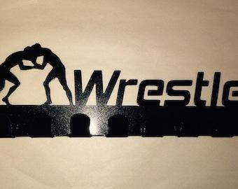 Wrestling medal holder