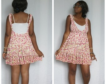 The Summer's End Crochet Dress Pattern. Instant Download!