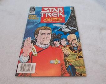 Vintage Comic Book -STAR TREK No 10- July 1990