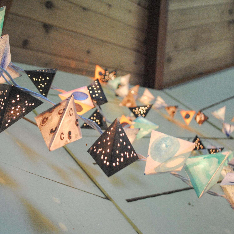Custom made paper lanterns