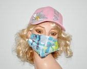 Kitchen Cutlery, Face mask, dust mask, helps against flu, Mouth mask, Dirt mask, for airplane, for skiing, soft