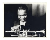 Louis Armstrong 3 Publicity Photo 8 by 10 Inches