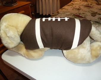 Large - Football Fleece Dog Coat Costume