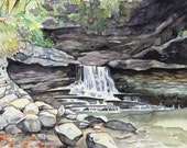 Waterfall at McCormick's Creek