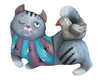 cat tricks, art doll