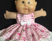 """Dolls clothes made to fit  42cm (16"""") Cabbage Patch Dolls -Size Medium"""