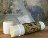 Herbal Beeswax Lotion Stick with Essential Oils ~ REVIVE. Local Beeswax from the Beekeeper. Australian Tea Tree - Peppermint - Rosemary.