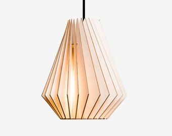 hektor wood lamp wooden lampshade pendant lighting hanging light wood design