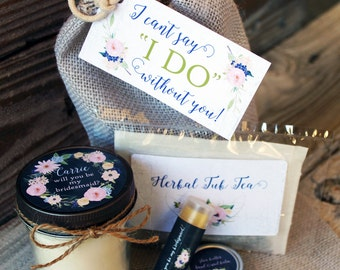 Will you be my Bridesmaid Gift // Will you be my Maid of Honor Gift // Maid of Honor Gift // Bride Bag