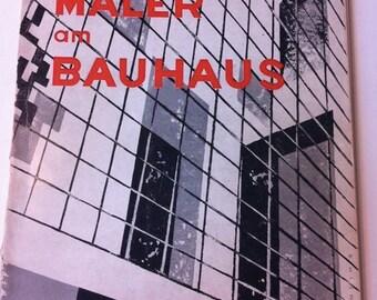 Die Maler Am BAUHAUS The Bauhaus Painters RARE Exhibit Catalog 1950 1st Ed