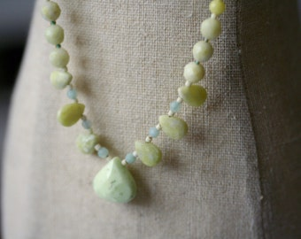 Mint Candy Jade Necklace