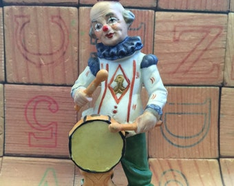 Uncle Winko The Vintage Clown Figurine Collectable