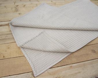 Towel linen, linen towel, Linen bath sheet, Natural organic linen towel, linen, Linen/cotton blended waffle towel, Waffle weave towel