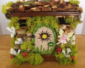 Enchanting ...The Rock Fairy House.....OOAK