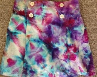 Funky Tie Dye Girls Skirt size 12 K020