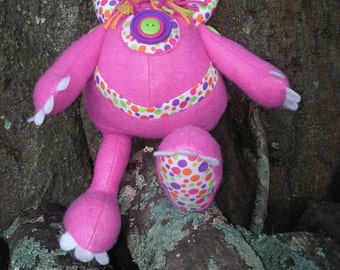 Poxie the monster plushie