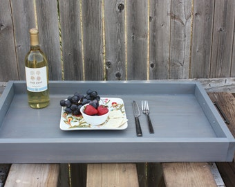 Rustic Weathered Serving Tray