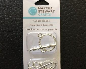 Martha Stewart toggle clasps closers