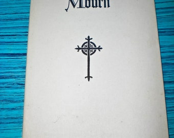 "Booklet ""For Those Who Mourn"""