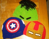Avengers Crocheted Hat - Choice