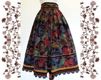 """Vintage """"Wiko Design Gil Leger"""" Skirt"""