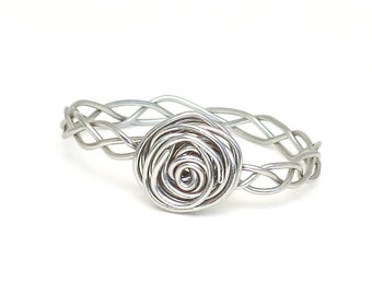 Braided Wire Wrapped Ring