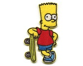 Radical Bart Simpson Patch