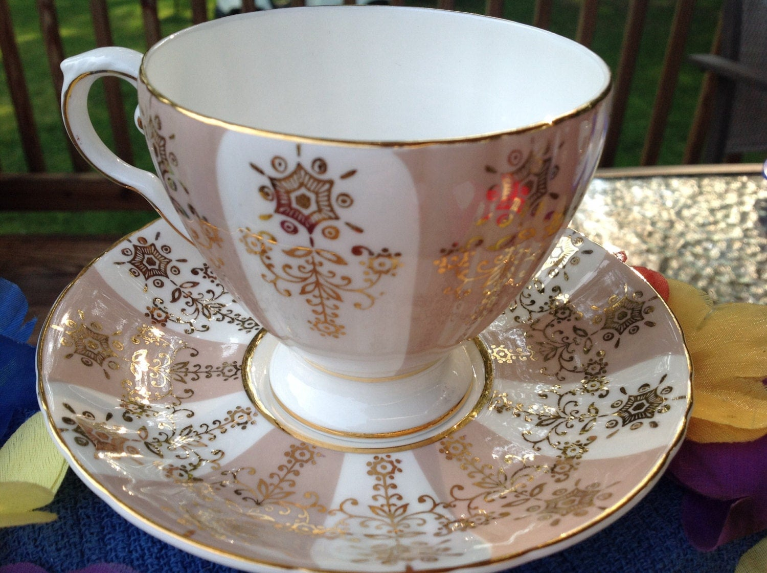 Vintage Royal Grafton Fine Bone China Made In England Cup