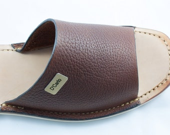 Learher Sandals For Men