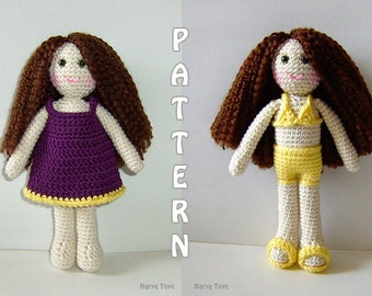 PDF - Zeynep the Summer Girl  Amigurumi Doll Pattern