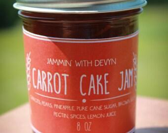 Handmade Carrot Cake Jam