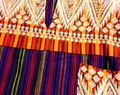 Boho Unisex Guatamalan Woven Hippie Ethnic Colorful Shirt Peru Steampunk,