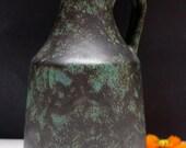 Fritz Van Daalen VASE Fat Lava 60's/ 70's Mid Century West German Pottery