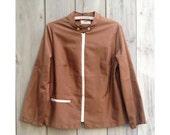 Vintage jacket | Koret mod brown zip-up light windbreaker jacket