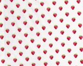 Strawberry Fabric Sunrise Studio by Holly Holderman  LH14047 White