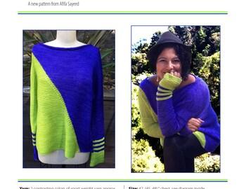 Digital Sweater Pattern - Pullover - Fauline