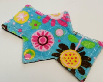 """8"""" Minky Moderate Flow Reusable Cloth Pad - Ready to Ship"""