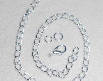 Silver Bracelet Link Chain