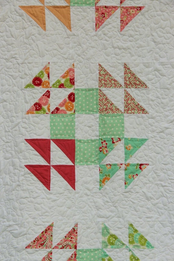 Robin S Nest Quilt Pattern Traditional Single Wedding