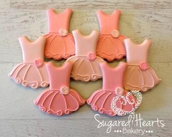 Ballerina Ballet Tutu Cookies - 1 Dozen